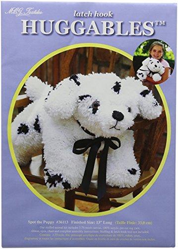(MCG Textiles Huggables Animal Spot the Puppy Latch Hook Kit )