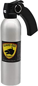 Guard Dog Security Pepper Spray Pistol Grip 24 oz - Police Strength with UV dye - 150 Bursts - Ideal for Home Security (Pistol Grip 1-Pack)