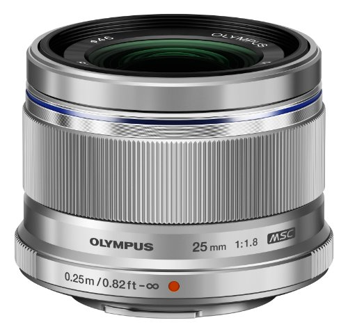 Olympus 25mm f1 8 Interchangeable Silver product image
