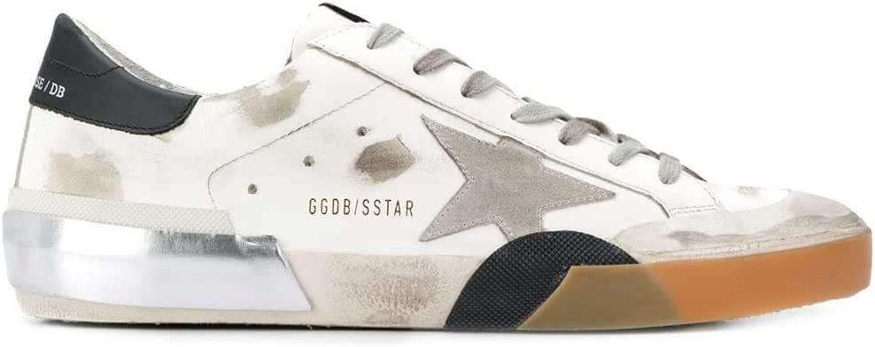 Luxury Fashion | Golden Goose Hombre G35MS590P50 Blanco Zapatillas | Otoño-Invierno 19: Amazon.es: Zapatos y complementos