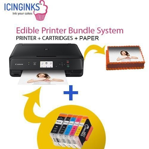 Canon Edible Printer Bundle Comes with Refillable Edible Cartridges and 20 Wafer Sheets,Canon Pixma TS6020 (Wireless+Scanner) , Best Edible Image Printer, Edible Printer For Cakes post thumbnail