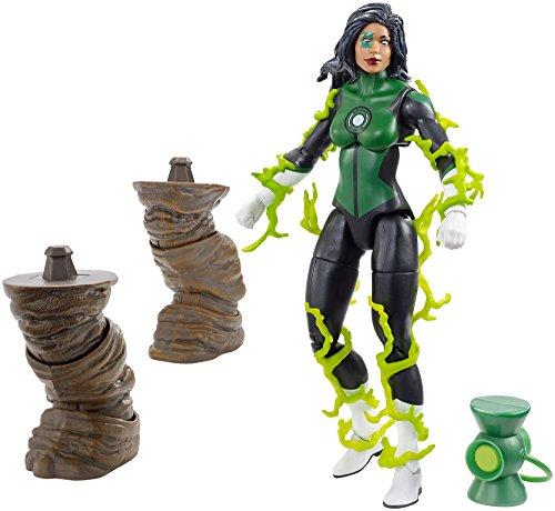 "DC Comics Multiverse Green Lantern Jessica Cruz Figure, 6"""