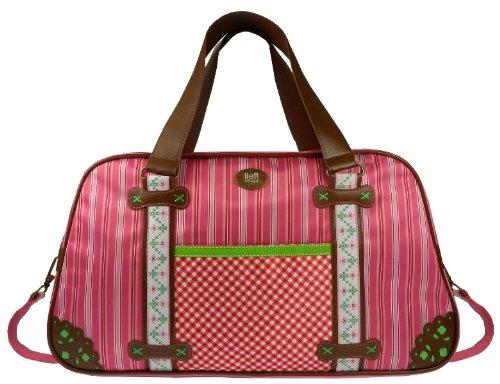 Lief! 440-4829-2 - Bolso cambiador, diseño rayado, color rosa