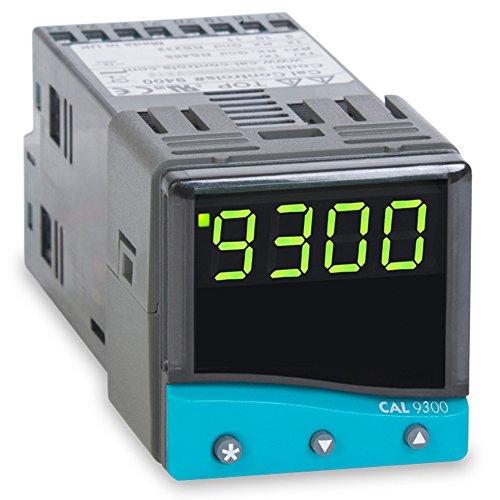 (CAL Controls 930000000 CAL 9300 Series 1/16 DIN Temperature Controller, 100 to 240 VAC, SSR Driver and Relay)