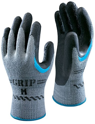 1 Pair Showa 330 Re-Grip Safety Gloves - Size 7 Small