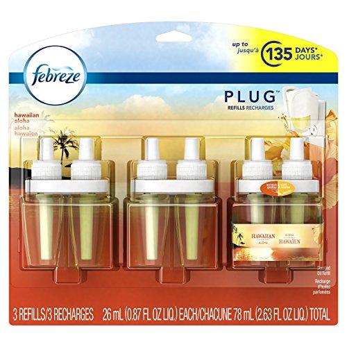 Price comparison product image Febreze PLUG Air Freshener Refills Hawaiian Aloha (3 Count, 2.63 oz)