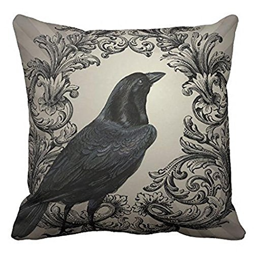 Price comparison product image Gotd Halloween Pillows Cover Decorations Decor Halloween Throw Pillow Case Sofa Waist Throw Cushion Cover Home Decor Square 45 x 45cm 18 x 18inch (Style H)