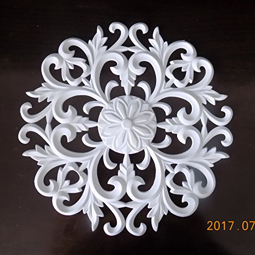 Pvc Flexible Wall Door Square Ceiling Molding Focal Furniture Applique Embossment Modelling Moldings 12 inch x 12 inch Iron Ceiling Medallions