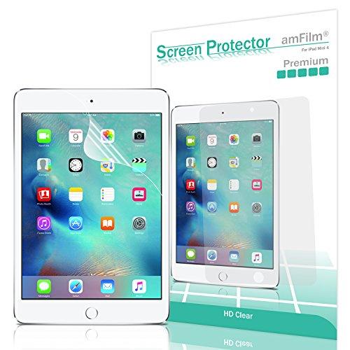 amFilm iPad Mini 4 Screen Protector HD Clear for Apple iPad Mini 4 (2015)(2-Pack)