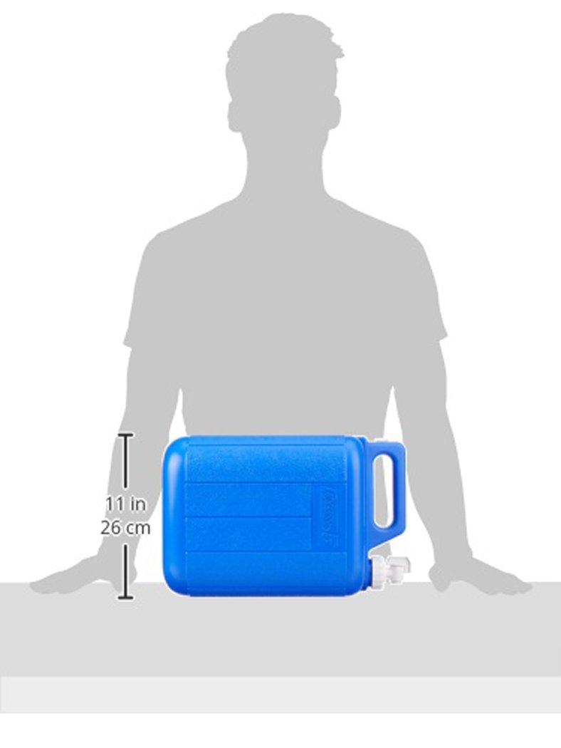 Coleman Jug With Water Carrier, 5 Gallons, Blue by Coleman