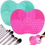 2Psc Makeup Brush Cleaning Mats