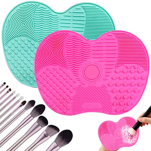 2Psc Makeup Brush Cleaning Mats