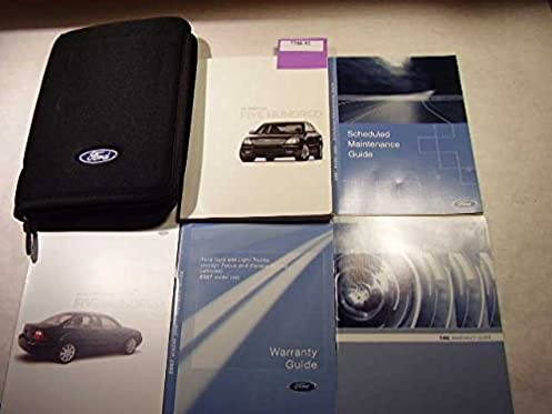 2007 ford 500 five hundred owners manual ford amazon com books rh amazon com Ford Motor Company Owners Manuals Ford Truck Owners Manual