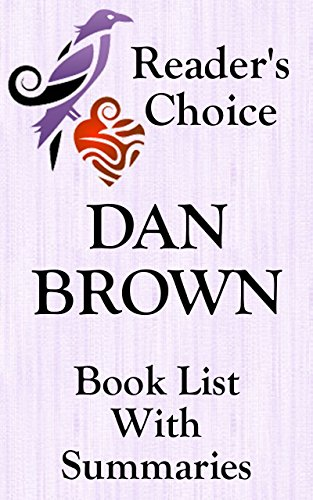 DAN BROWN BOOKS IN READING ORDER WITH SUMMARIES AND CHECKLIST - INCLUDING LATEST ROBERT LANGDON: SUMMARIES, CHECKLIST AND ORDERING LINKS FOR ALL DAN BROWN NOVELS  (BOOK LIST WITH SUMMARIES 29)