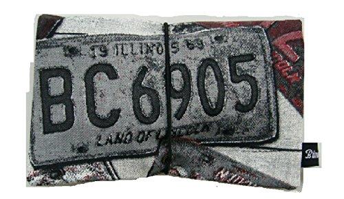 Büroteuse Tabaktasche / Drehertasche im Kfz-Schilder-Design, jede Tasche ein Unikat! KFZ-Schild