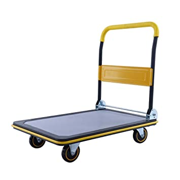 db2961b0202a Push Cart Dolly | Functional Moving Platform + Hand Truck | Foldable ...