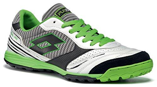 Lotto Sport Torcida - Zapatillas de fútbol para hombre white/fluo mint