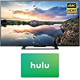 Sony KD60X690E 60-Inch 4K Ultra HD Smart LED TV (2017) with Hulu $25 Gift Card