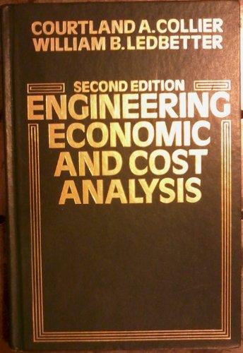 Engineering Economic and Cost Analysis