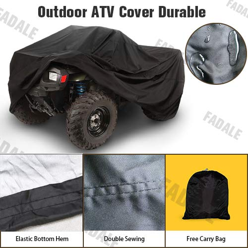 (Universal ATV Cover Waterproof Quad Bike 4x4 Four Wheeler Storage XA2YV)