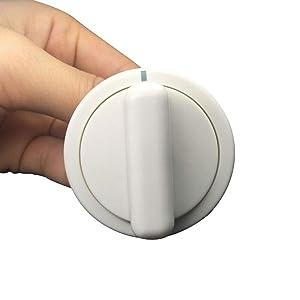 MAYITOP WE01X10160 Washing Machine Dryer Timer Knob for GE AP3207448, PS755794 (White)