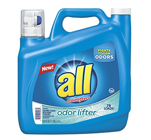 All Liquid Laundry Detergent Odor Lifter, 141 Fluid Ounce