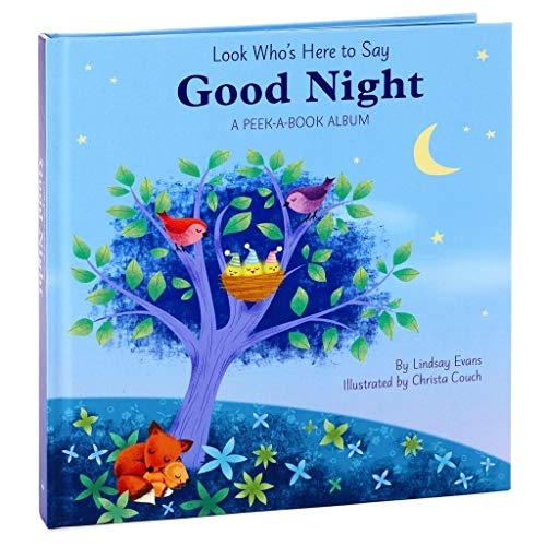 [해외]Look Who`s Here to Say Good Night: A Peek-a-Book Photo Album / Look Who`s Here to Say Good Night: A Peek-a-Book Photo Album