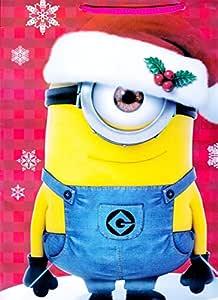 Minions Bolsa de Regalo de navidad grande X-Mas – geschent