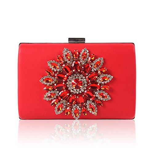 Pochette fugenzhang Taille femme pour Red M YqUdqw