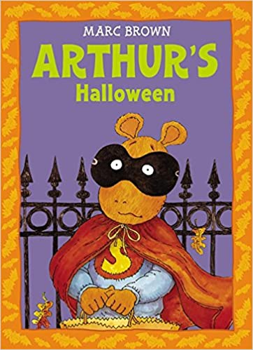 arthurs halloween an arthur adventure marc brown 9780316110594 amazoncom books