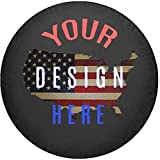 American Unlimited Custom Jeep Tire Cover You Design Personalized Full Color Spare Tire Cover Size 31 Inch