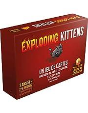 Asmodee Exploding Kittens, EKEK01FR, Jeu de Cartes
