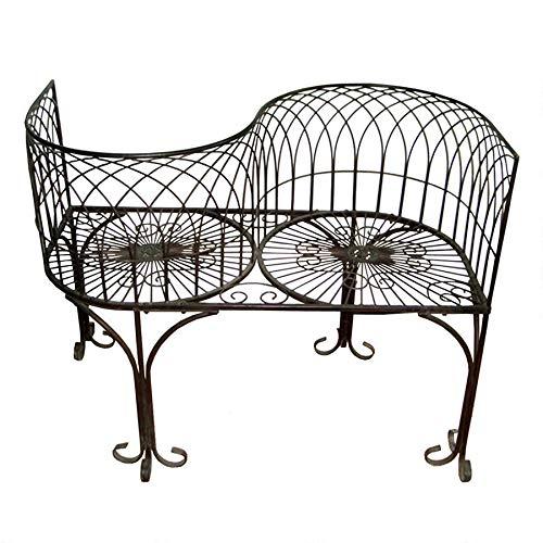 Design Toscano Tete a Tete Kissing Garden Bench