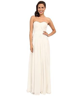 Strapless Chiffon Gown