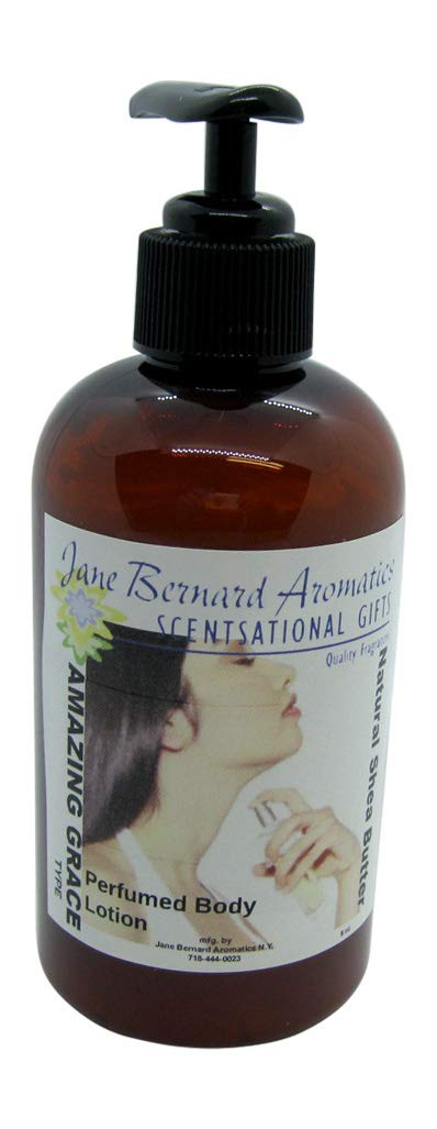 Jane Bernard Scented Shea Butter Hand and Body Lotion IMPRESSION of AMAZING GRACE_Type Women Fragrance