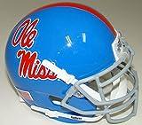 NCAA Mississippi Old Miss Rebels Blue Mini Helmet, One Size, White