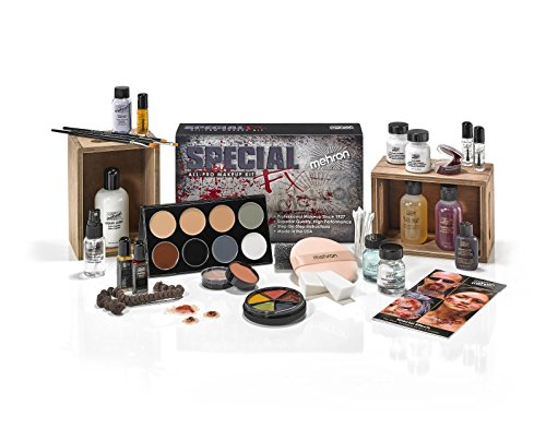[Mehron Makeup Special FX Kit] (Costume Makeup Wax)