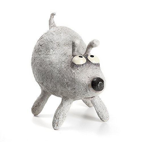 Bingo Dog Sculpture, by Blobhouse, Decorative Sculpture for Home Outdoor Garden Lawn Indoor Art Accent