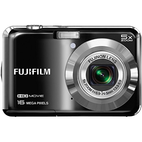 Fujifilm FinePix AX655 - 16 Megapixel Digital Camera with 5x Optical Zoom, HD 720p Video Recording, 2.7' LCD Display - Black (Certified Refurbished)
