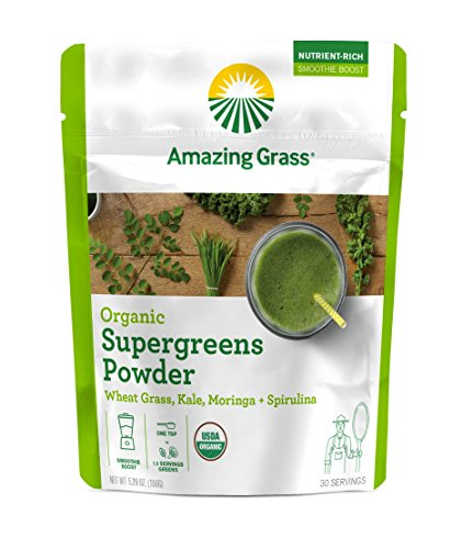 Amazing Grass Supergreens Alkalizing Spirulina