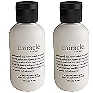 Philosophy Miracle Worker Anti-Aging Lactic Acid Cleanser & Mask 2 CT 2 FL OZ