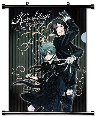 Inches 16 x 23 Black Butler Anime Fabric Wall Scroll Poster