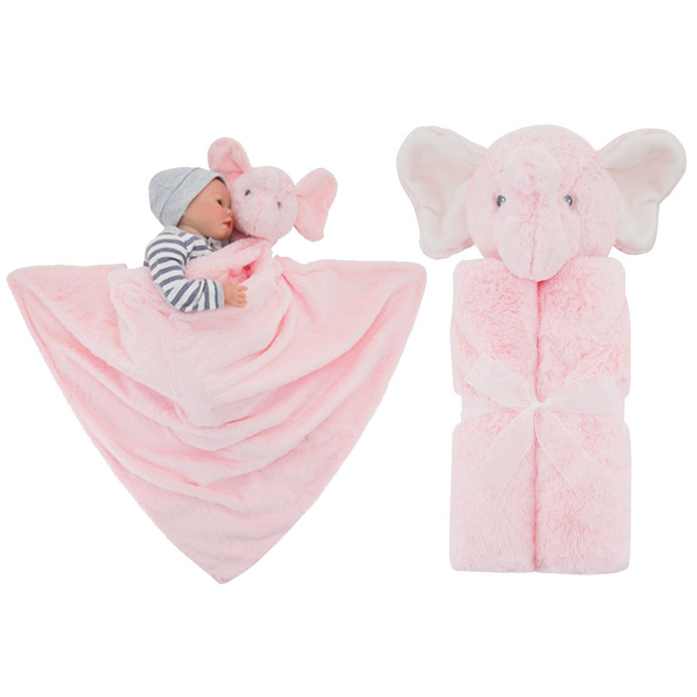 Vine Girls Baby Blanket Infant Sleeping Bag Bathrobe Towel Cute Animal Head Newborn Swaddling 76x76cm(Thick-White Sheep) Vine Trading Co. Ltd E160724MT01007V