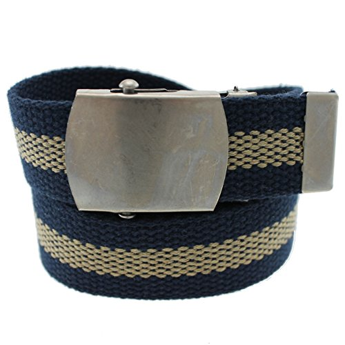 Cargo Cotton Military Web Belt Made in USA By Thomas Bates (Cotton Work Belt)