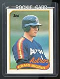 1989 Topps #49 Craig Biggio Houston Astros Rookie Card - Mint Condition Ships in a Brand New Holder