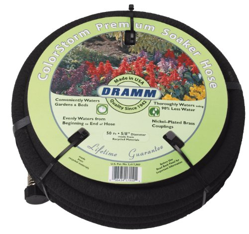 Dramm 17020 ColorStorm Premium 25 Foot Soaker Garden Hose