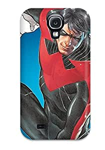 9807502K81052231 Defender Case For Galaxy S4, Nightwing Pattern