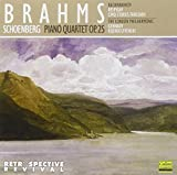 Brahms: Piano Quartet (arranged for orchestra by Schoenberg); Rachmaninov: Cinq Etudes- Tableaux (arranged for orchestra by Resphighi)