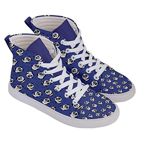 De Des Panda Chaussures Bleu Ballons Chaussures Et Patin Femmes De Plaisir Marine Sport Modèle Cowcow Salut Haut zpzxwX