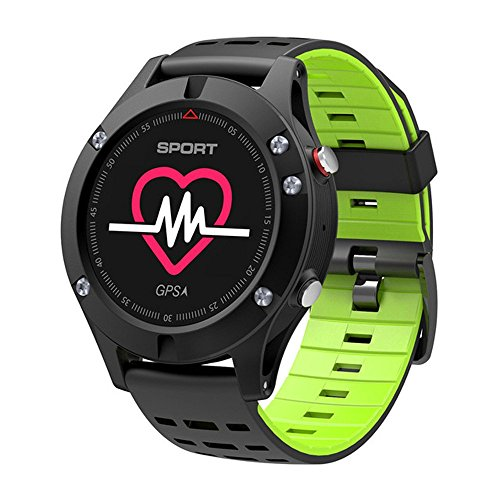 Heart Rate Monitor GPS Multi-Sport Mode OLED Altimeter Bluet